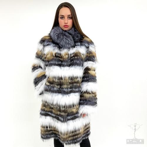 cpsn306-var-100-cm-cappotto-in-volpe-argentata-reversibile-bianca-argentata-golden-cr-6930