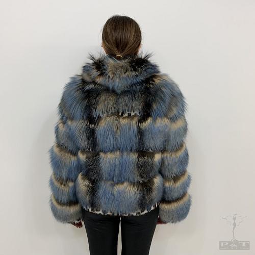 gazq901-vla-giacca-volpe-argentata-balze-con-inserti-maculati-blu-melange-6647