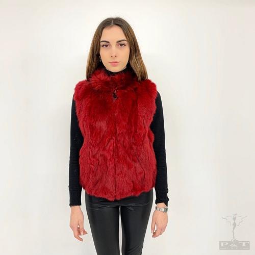 gltd108-lp9ra-53-cm-gilet-lapin-lavorazione-patchwork-con-zip-e-collo-raccoon-7136